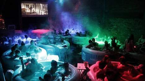 'Hot-tub Cinema'