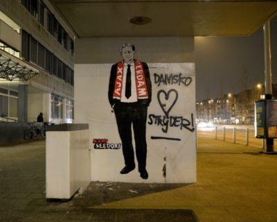 Kunstenaarscollectief Kamp Seedorf komt met prachtig eerbetoon aan zieke Van der Laan